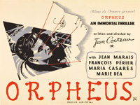 "Orpheus (DisCina, 1950). British Quad (30"" X 40"")"