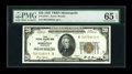 Small Size:Federal Reserve Bank Notes, Fr. 1870-I $20 1929 Federal Reserve Bank Note. PCGS Choice About New 58PPQ.. Just the lightest amount of handling is to be s...