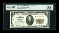 Fr. 1870-I $20 1929 Federal Reserve Bank Note. PCGS Choice About New 58PPQ. Just the lightest amount of handling is to b...