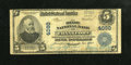 National Bank Notes:Kentucky, Frankfort, KY - $5 1902 Plain Back Fr. 600 The State NB Ch. # 4090....