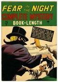 Golden Age (1938-1955):Crime, Complete Mystery #3 (Marvel, 1948) Condition: FN/VF....