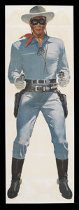 "Movie Posters:Western, The Lone Ranger (Wheaties Cereal, 1957). Poster (25"" X 75"").Western. ..."