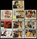 """Movie Posters:Drama, Drama Lot (Various, 1959-1964). Title Lobby Cards (3) and LobbyCards (7) (11"""" X 14""""). Drama.... (Total: 10 Items)"""