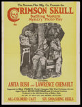Movie Posters:Black Films, The Crimson Skull (Norman, 1922). Pressbook (Four Pages). BlackFilms. ...