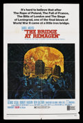 "Movie Posters:War, The Bridge At Remagen (United Artists, 1969). One Sheets (2) (27"" X41"") Style A and Style B. War. ... (Total: 2 Items)"