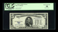 Error Notes:Obstruction Errors, Fr. 1654* $5 1934D Silver Certificate. PCGS Choice About New 58.....