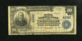 National Bank Notes:Kentucky, Frankfort, KY - $10 1902 Plain Back Fr. 626 The State NB Ch. #4090. ...