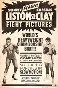 "Movie Posters:Sports, Liston vs. Clay (20th Century Fox, 1964). Poster (40"" X 60"").. ..."