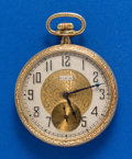 Timepieces:Pocket (post 1900), Elgin 12 Size Open Face Pocket Watch. ...