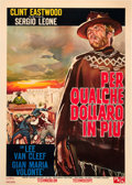 "Movie Posters:Western, For a Few Dollars More (PEA, 1966). Italian 2 - Foglio (39"" X 55"")...."