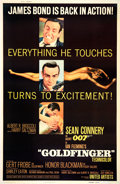 "Movie Posters:James Bond, Goldfinger (United Artists, 1964). Poster (40"" X 60"") Style Z.. ..."