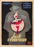 """Movie Posters:Horror, The Lodger (20th Century Fox, 1944). French Grande (47"""" X 63"""")....."""