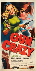 "Movie Posters:Film Noir, Gun Crazy (United Artists, 1949). Three Sheet (41"" X 81"").. ..."
