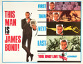 """Movie Posters:James Bond, You Only Live Twice (United Artists, 1967). Subway (41"""" X 54"""") Advance Style.. ..."""