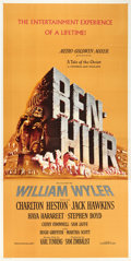 "Movie Posters:Historical Drama, Ben-Hur (MGM, 1959). Three Sheet (41"" X 81"").. ..."