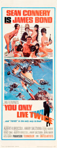 "Movie Posters:James Bond, You Only Live Twice (United Artists, 1967). Insert (14"" X 36"")....."