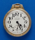 Timepieces:Pocket (post 1900), Hamilton, 23 Jewel, 950 B Gold Filled Pocket Watch. ...