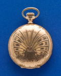 Timepieces:Pocket (post 1900), Illinois 0 Size Gold Filled Hunters Case. ...