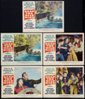 """Movie Posters:Adventure, Reap the Wild Wind Lot (Paramount, R-1954). Lobby Cards (9) (11"""" X14""""). Adventure.. ... (Total: 9 Items)"""