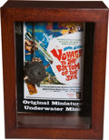 Movie/TV Memorabilia:Props, Voyage to the Bottom of the Sea Underwater MineMiniature....