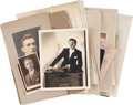 Movie/TV Memorabilia:Photos, Clifton Webb's Assorted Personal Photos and Correspondence....
