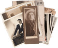 Movie/TV Memorabilia:Photos, Clifton Webb's Personal Photos and Press Clippings.... (Total: 30 )