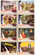 "Movie Posters:Science Fiction, Rocketship X-M (Lippert, 1950). Lobby Card Set of 8 (11"" X 14"")..... (Total: 8 Items)"