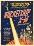"Movie Posters:Science Fiction, Rocketship X-M (Lippert, 1950). Poster (30"" X 40"").. ..."