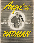 Movie Posters:Western, Angel and the Badman (Republic, 1947). Pressbook (Multiple Pages).. ...
