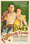 "Movie Posters:Western, The Fighting Code (Columbia, 1933). One Sheet (27"" X 41"").. ..."