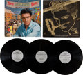 Music Memorabilia:Recordings, Elvis Presley Mono Roustabout LP and Promo Group(1964-86).... (Total: 3 Items)