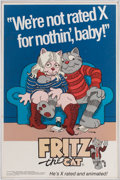 Movie/TV Memorabilia:Posters, Fritz the Cat Movie Poster....