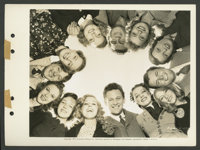 "Paramount Future Star Lot (Paramount, 1939). Keybook Photos (7) (8"" X 11""). Miscellaneous. ... (Total: 7 Items..."