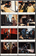 "Movie Posters:Blaxploitation, Shaft (MGM, 1971). Lobby Card Set of 8 (11"" X 14"").Blaxploitation.. ... (Total: 8 Items)"