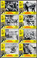 """Movie Posters:Exploitation, Angel Unchained (American International, 1970). Lobby Card Set of 8 (11"""" X 14""""). Exploitation.. ... (Total: 8 Items)"""