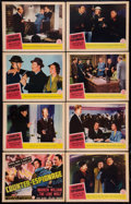 "Movie Posters:Mystery, Counter-Espionage (Columbia, 1942). Lobby Card Set of 8 (11"" X 14""). Mystery.. ... (Total: 8 Items)"