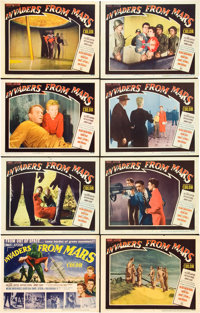 """Invaders from Mars (20th Century Fox, 1953). Lobby Card Set of 8 (11"""" X 14""""). ... (Total: 8 Items)"""