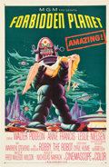 "Movie Posters:Science Fiction, Forbidden Planet (MGM, 1956). One Sheet (27"" X 41"").. ..."