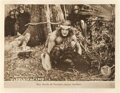 "Movie Posters:Adventure, Tarzan of the Apes (First National, 1918). Lobby Card (11"" X 14"")....."