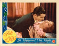"Movie Posters:Comedy, It Happened One Night (Columbia, 1934). Lobby Card (11"" X 14"")....."