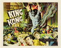 "Movie Posters:Horror, King Kong (RKO, R-1956). Half Sheet (22"" X 28"").. ..."