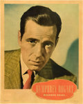"Movie Posters:Miscellaneous, Humphrey Bogart (Warner Brothers, Late 1930s). Personality Poster (22"" X 28"").. ..."