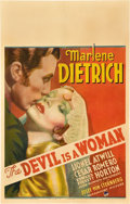 "Movie Posters:Romance, The Devil is a Woman (Paramount, 1935). Window Card (14"" X 22"")....."