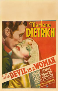 """The Devil is a Woman (Paramount, 1935). Window Card (14"""" X 22"""")"""