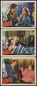 "Movie Posters:Film Noir, Kiss the Blood Off My Hands (Universal International, 1948). Lobby Cards (3) (11"" X 14""). Film Noir.. ... (Total: 3 Items)"