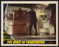 "Movie Posters:Horror, The Ghost of Frankenstein (Universal, 1942). Lobby Card (11"" X 14""). Horror.. ..."