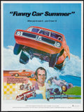 """Movie Posters:Documentary, Funny Car Summer (Ambassador Pictures, 1974). Poster (30"""" X 40""""). Documentary.. ..."""
