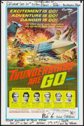 "Movie Posters:Science Fiction, Thunderbirds Are Go (United Artists, 1967). One Sheet (27"" X 41"").Science Fiction.. ..."