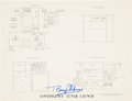 "Explorers:Space Exploration, Buzz Aldrin: Signed Apollo 11 ""Contingency Lunar Launch"" DiagramOriginally from His Personal Collection...."