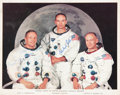 Autographs:Celebrities, Apollo 11 Crew-Signed White Spacesuit Color Photo with Archive ofOriginal Apollo 11 Photos.... (Total: 61 Items)